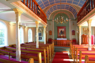 IBLOMK01835411 Church in Hverageroi, Iceland