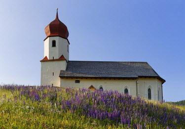 IBXMAN03829011 Parish Church of St. Nicholas, Dam ���ls, Bregenz Forest, Vorarlberg, Austria