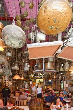 HMS0606339 Israel, Tel Aviv, Jaffa, Dr Shakshuka Libyan Restaurant