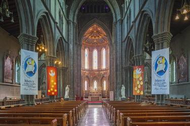 IE02523 Ireland, County Kilkenny, Kilkenny City, St. Mary's Cathedral, interior