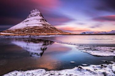 IBXSEI04006078 Kirkjufell Mountain, Snaefellsnes peninsula, Western Iceland