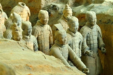 IBXSHU04036612 Terracotta Army, Hall 1, Mausoleum of the First Qin Emperor, Xi'an, Shaanxi Province, China