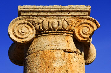 IBXGUF00055914 Ionic capital Leptis Magna Libya