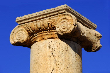 IBXGUF00055942 Ionic capital Leptis Magna Libya