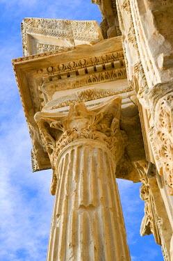 IBXGUF00260262 Arch of Septimus Severus, Detail, Leptis Magna Libya
