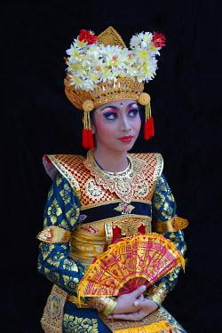 IBXGAB04007138 Balinese dancer, Ubud, Bali, Indonesia