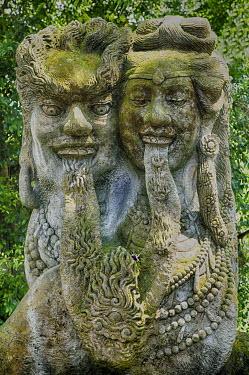 IBXGAB04007321 Statue, Ubud, Bali, Indonesia