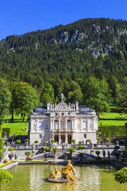 TPX56738 Germany, Bavaria, Linderhof Palace (Schloss Linderhof)