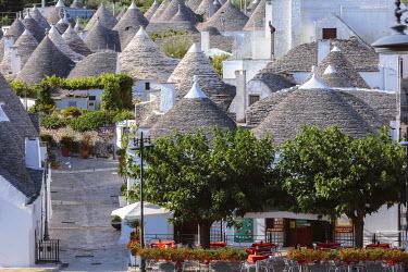 ITA9297AW Trulli, Alberobello, Itria valley, Apulia, Italy