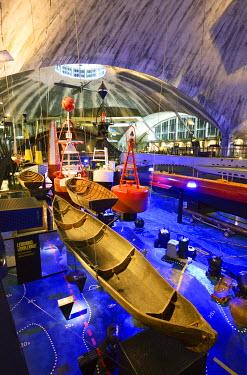 EST1204AW Lennusadam (Seaplane Harbour) museum. Tallinn, Estonia