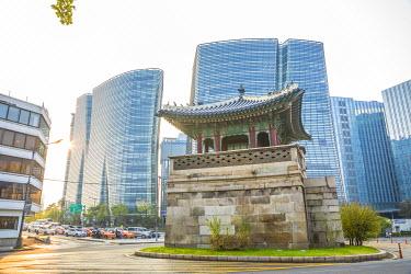 KR01284 Dongsipjagak Guard Tower, Seoul, South Korea