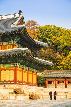 KR01285 Injeongjeon (Throne Hall), Changdeokgung Palace, Seoul, South Korea
