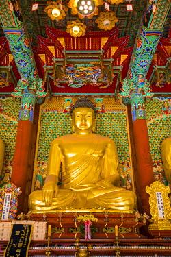 KR01308 Jogyesa Buddhist temple, Seoul, South Korea