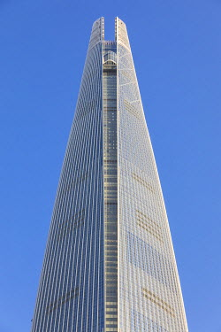 KR01311 Lotte Tower (555m supertall skyscraper, 5th tallest building in the world when completed in 2016), Seoul, South Korea