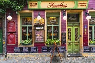 BEL1463AW Restaurant in Patershol, Ghent, Flanders, Belgium