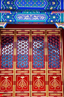 AS07WPE0111 Yin Luan Din Great Hall Prince Gong's Mansion, Beijing, China. Built during Emperor Qianlong Reign.