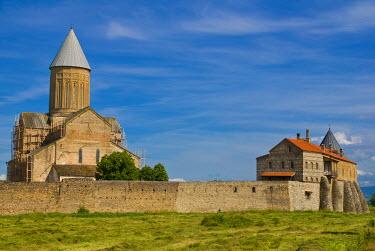 AS08MRU0002 Cathedral of Alaverdi Monastery, Kakheti, Georgia