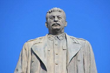 AS08MRU0170 Statue of Joseph Stalin. Stalin Square, Gori, Georgia