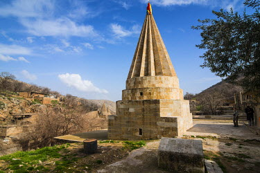 AS13MRU0016 Lalish capital of the Kurdish sect of the Yazidis in Kurdistan, Iraq
