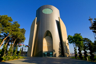 AS49MRU0040 Modern building, Baku, Azerbaijan