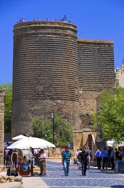 AS49MRU0108 Maiden's Tower, Baku, Azerbaijan