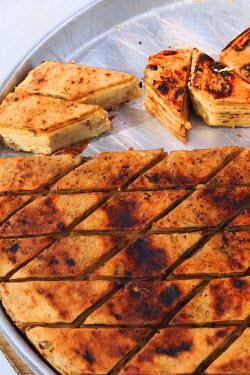 EU49EWI0200 Macedonia, Struga. Traditional Macedonian food, gomleze.