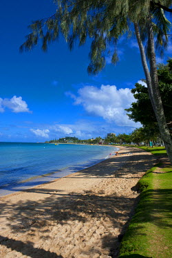 OC19MRU0005 Beach in Noumea capital of Melanesia, New Caledonia, South Pacific