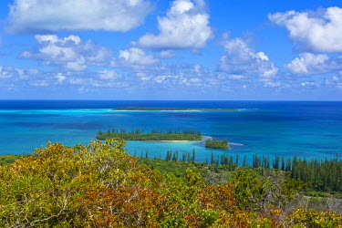 OC19MRU0045 Overlook over the Ile des Pins, New Caledonia, South Pacific