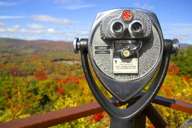 US22SPE0868 Coin-operated viewer near Route 2 in Berkshire County, Massachusetts, USA
