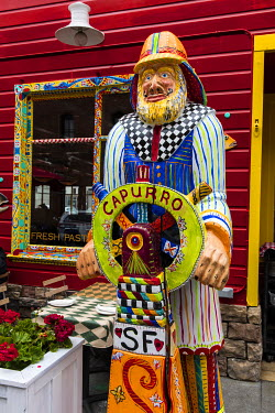 US05CHA0407 Capurro Restaurant in Fisherman's Wharf in San Francisco, California, USA