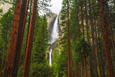 US05RBS0269 Yosemite Falls, California, Usa