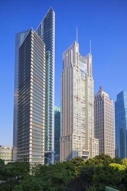CN187RF Lujiazui financial district, Pudong, Shanghai Tower, Shanghai, China