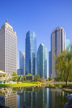 CN03571 Lujiazui financial district, Pudong, Shanghai Tower, Shanghai, China