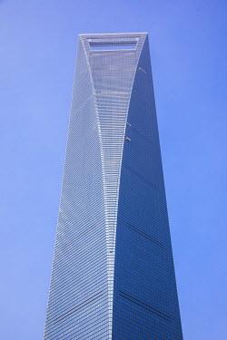 CN03579 Shanghai World Financial Center, Lujiazui financial district, Pudong, Shanghai Tower, Shanghai, China
