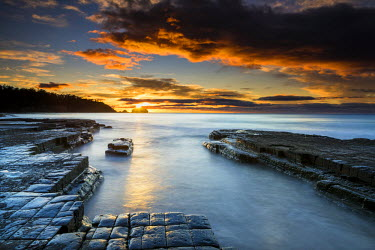 AUS2476AW Tesselated Pavement, Eaglehawk Neck, Tasmania