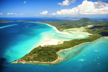 AUS2535AW Whitehaven Beach, Whitsunday Island, Great Barrier Reef, Queensland, Australia