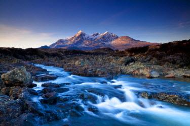 SCO34400AW The Cuillin Hills, Sligachan, Isle of Skye, Highland Region, Scotland