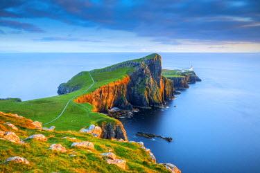 SCO34514AW Neist Point Lighthouse, Isle of Skye, Scotland