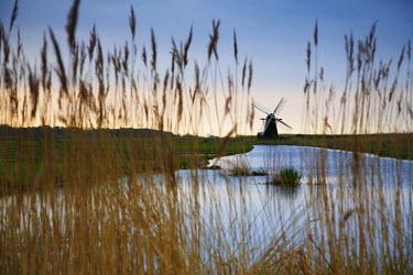ENG13748AW Herringfleet Windpump, Suffolk, England