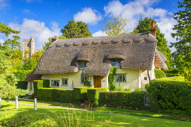 ENG13909AW Thatched Cottage, Arkesden, Essex, England