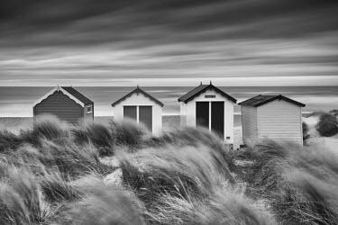 ENG14008AW Beach Huts, Southwold, Suffolk, England