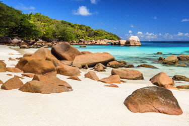 SEY1027AW Anse Lazio Beach, Praslin, Seychelles