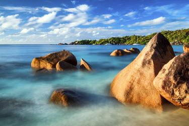 SEY1036AW Anse Lazio Beach, Praslin, Seychelles,