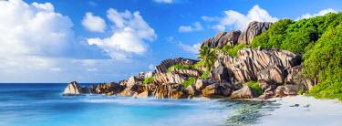 SEY1046AW Grand Anse Beach, La Digue, Seychelles