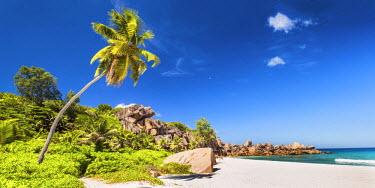SEY1054AW Grand Anse Beach, La Digue, Seychelles