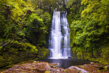 NZ9108AW McLean Falls, The Catlins, New Zealand