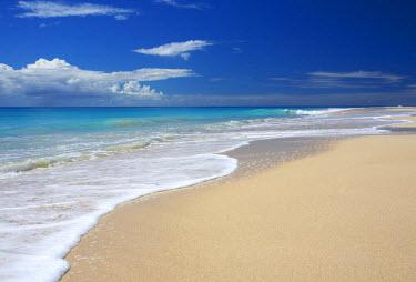 ANB0022AW Pristine Beach, Barbuda, Caribbean, West Indies