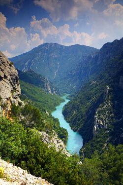FRA9379AW Gorges du Verdon, Provence, France