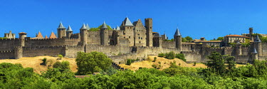 FRA9483AW Carcassonne, Languedoc, France