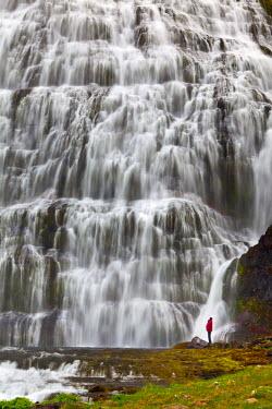 ICE3915AW Dynjandi Waterfall, Iceland